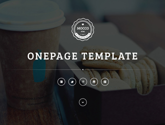 Mocco Single Page Bootstrap Template