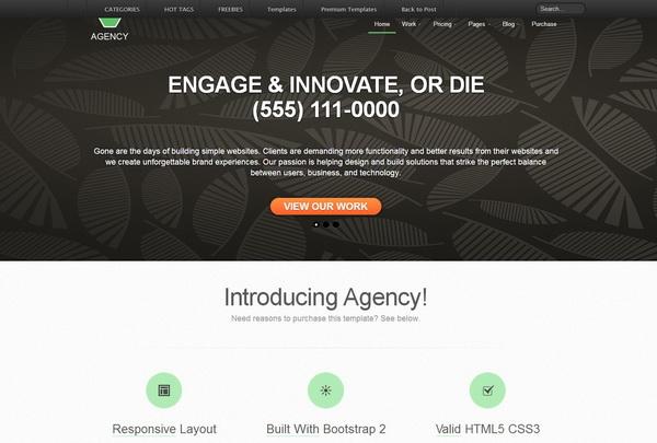 Agency Business Portfolio Template