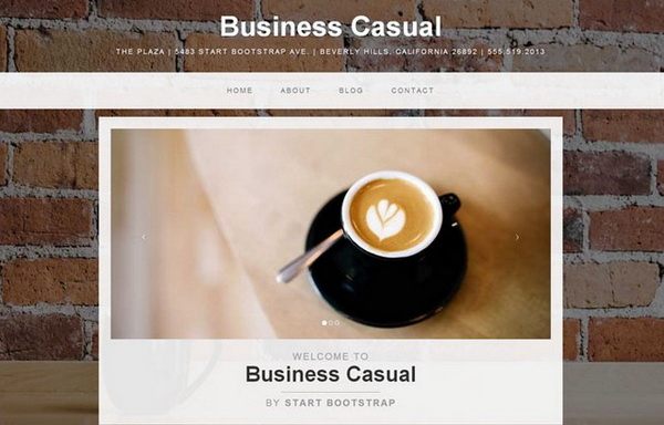 Business Casual Template
