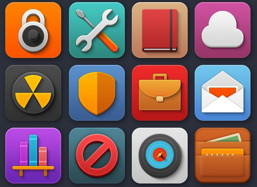Colorful Playful Softies Icons