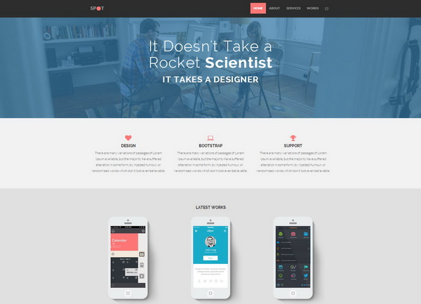 Spot - Freelance & Agency Theme