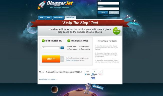 Strip the Blog