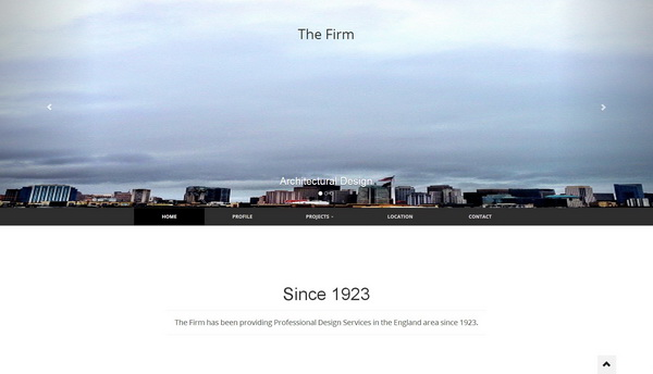The Firm Bootstrap Template