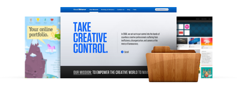 create online portfolio