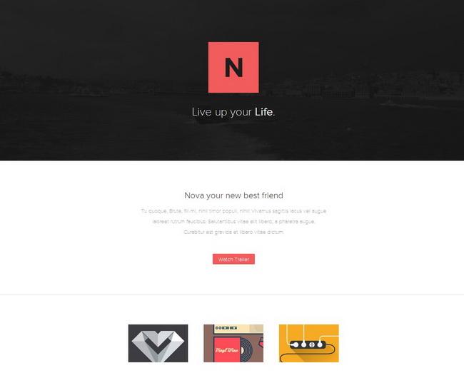 Nova Web Template