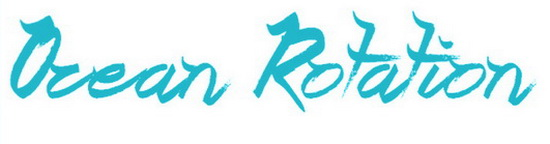 Ocean Rotation Font