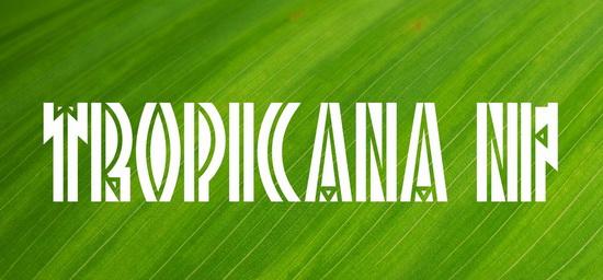 Tropicana NF Font