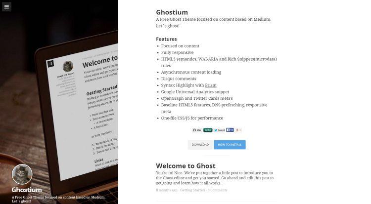 Ghostium Theme