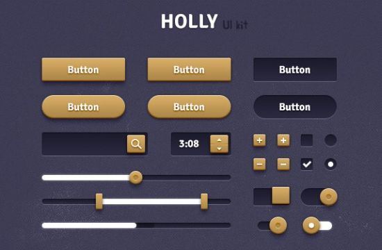 Holly Web UI Kit