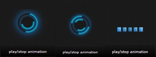 CSS3 Loading Animation Loop