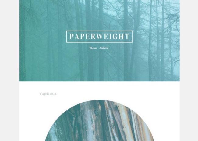 Paperweight Theme