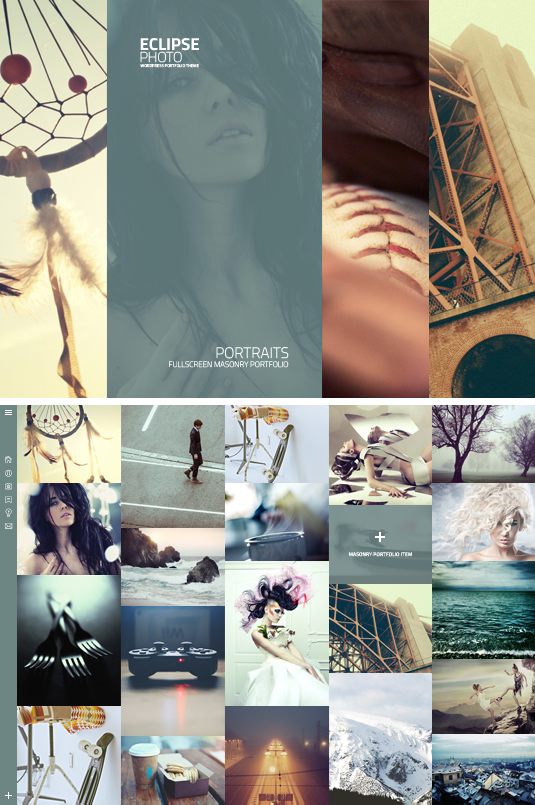 Eclipse Photography Website Template