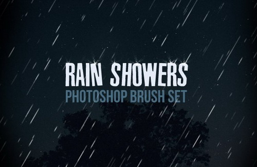 Rain Shower Brush Set