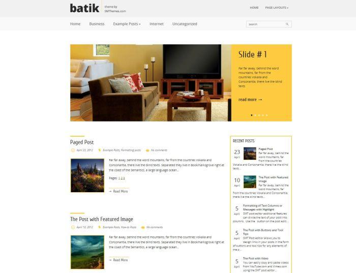 Batik WordPress Theme