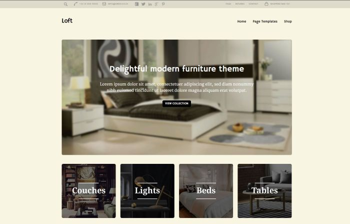 Interior Design Wordpress Themes Free And Premium Gt3 Themes
