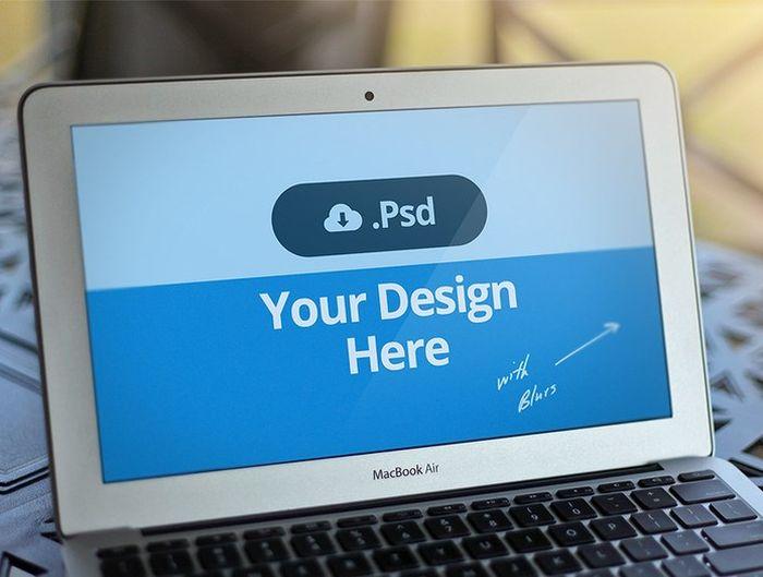 Macbook Free PSD