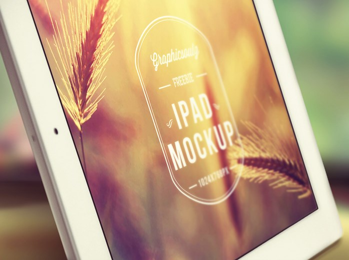 Stylish iPad Mockup