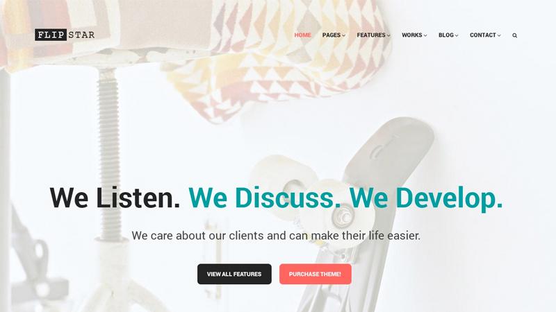 flipstar-design-wordpress-theme