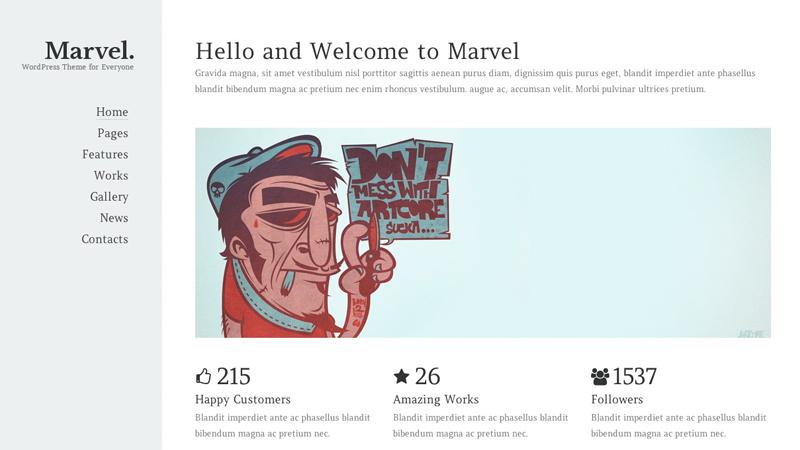 marvel-portfolio-wordpress-theme