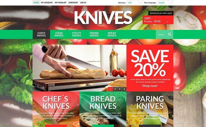 Knives Magento Theme