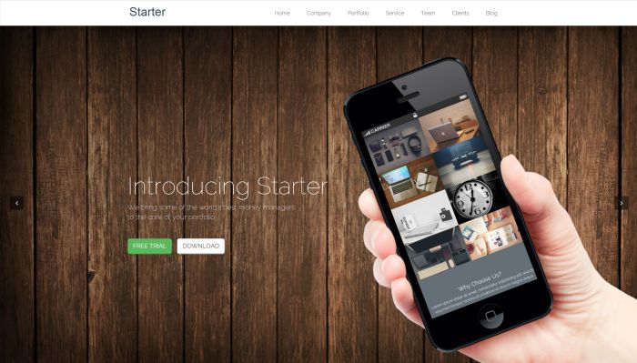 Starter WordPress Theme