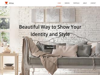 aliza html template