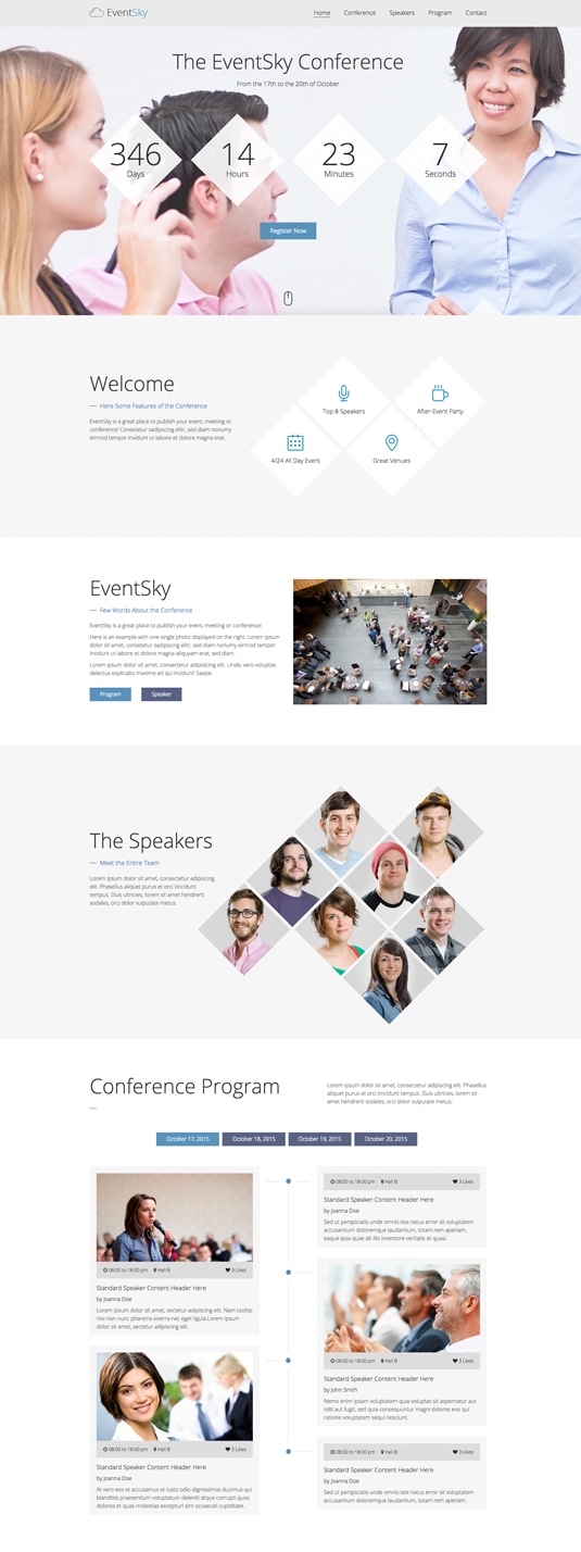 Planner one page template event planner one page template pronofoot35fo Image collections