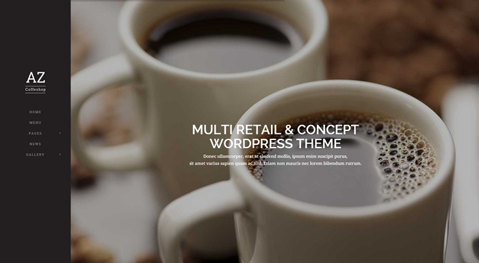 AZ Multi Retail & Concept WordPress Theme