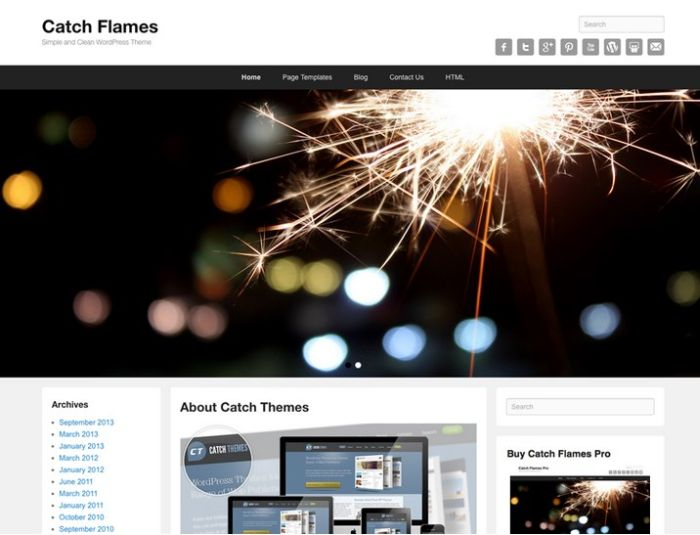 Catch Flames WordPress Theme
