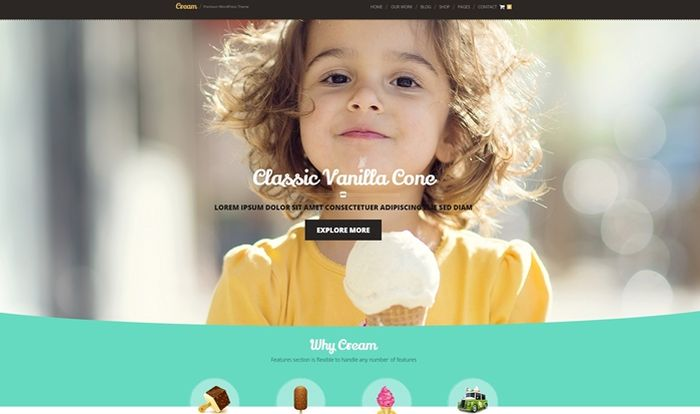 Cream WooCommerce WordPress Theme