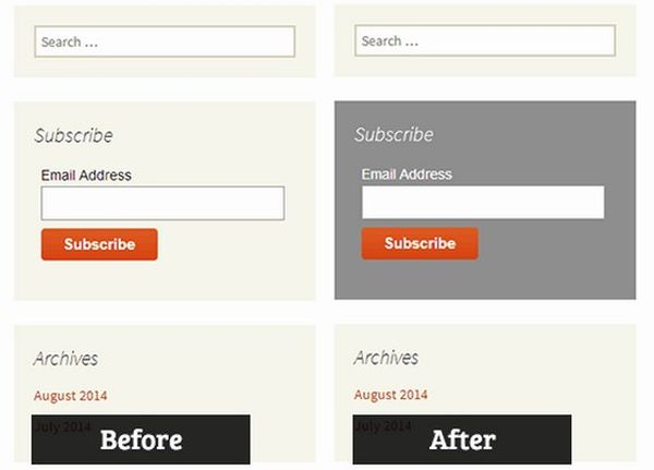 How to Add Custom Styles to WordPress Widgets
