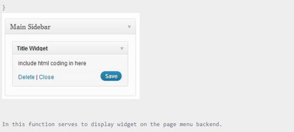 How to Create a Simple Widget on WordPress