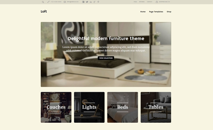 Loft Multi-Purpose WooCommerce Theme