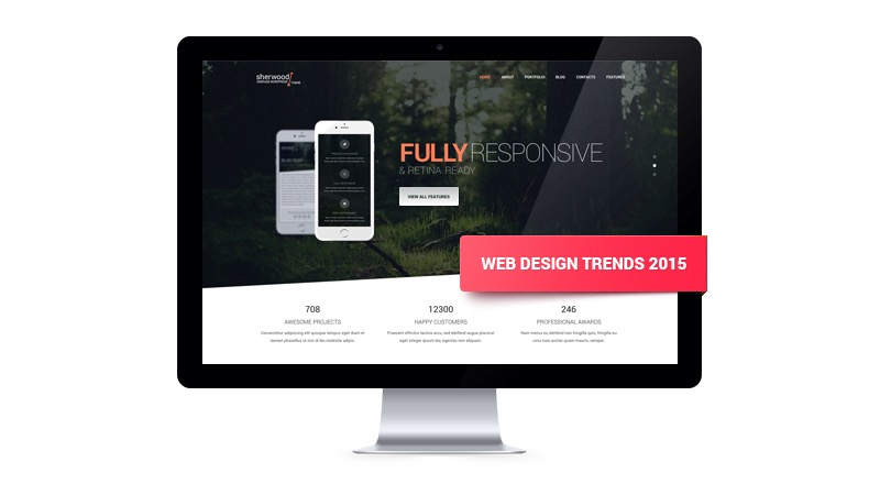 Looking Ahead - Web Design Trends in 2015