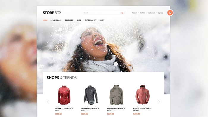 Storebox Webshop WordPress Theme