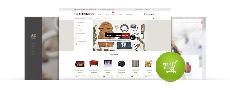 The Newest eCommerce WordPress Themes Collection