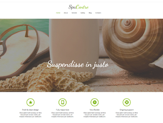 spa-center-website-template