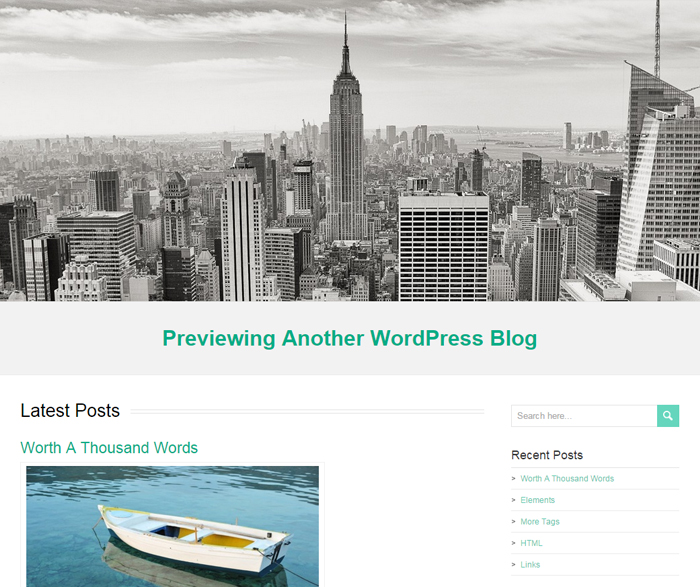 restimpo free business wordpress theme