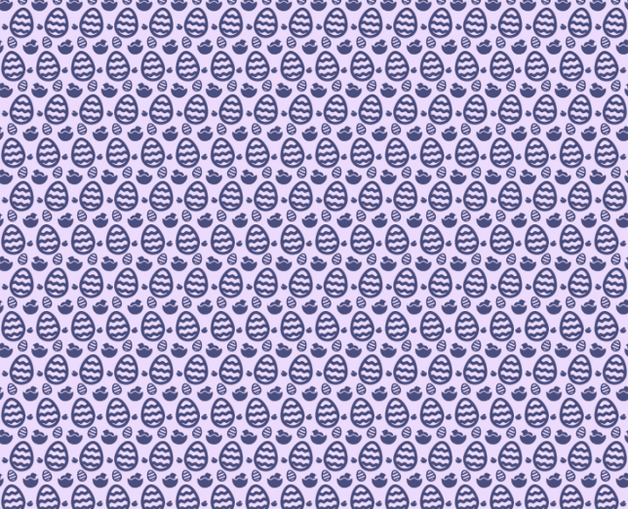 festive easter egg free seamless vector pattern