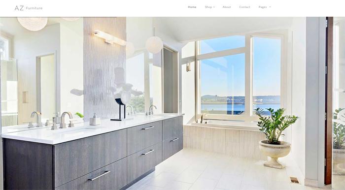 az furniture multi retail & concept wordpress theme