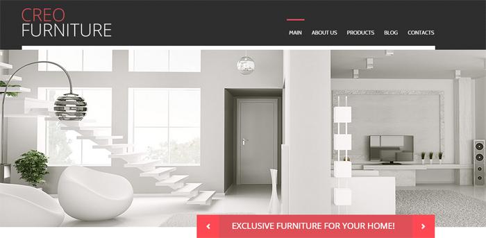 creo furniture wordpress theme