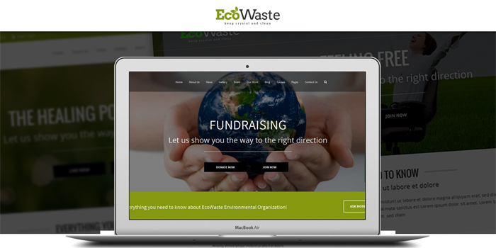 ecowaste environmental html template