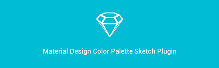 free material design color palette sketch plugin