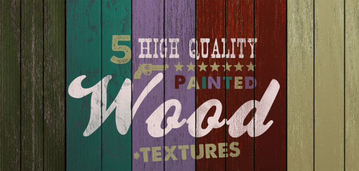 free painted wood texture light pack