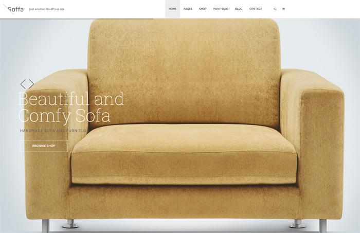 soffa wordpress theme