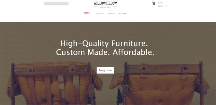 willowpillow wordpress theme