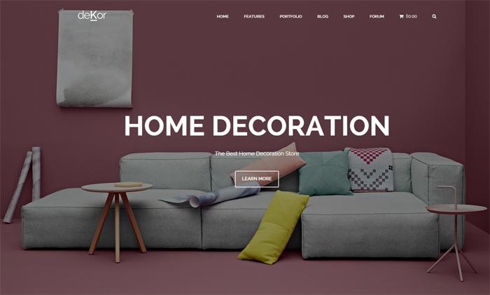 dekor wordpress theme