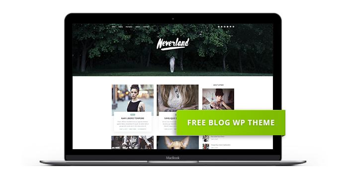 neverland-free-wordpress-theme