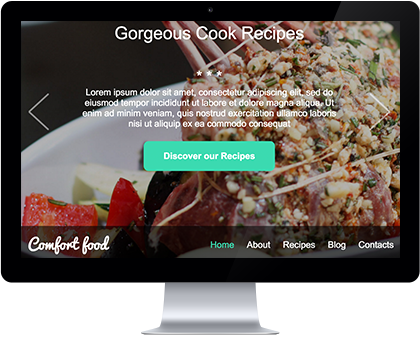 food-website-template