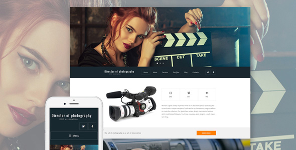 director-responsive-photography-wordpress-theme